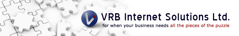 VRB Internet Solutions Ltd. For when your business needs all the pieces of the puzzle
